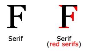 Серифен шрифт