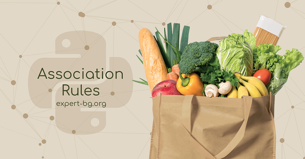 association rules groceries python